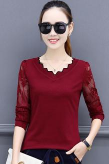 2017秋季新款韩版宽松百搭打底衫长袖t恤加绒加厚女装遮肚子上衣