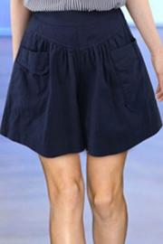 8340#加肥加大码女装胖mm宽松短裤夏款休闲松紧腰阔腿显瘦热裤