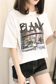 066#实拍(已出货)纯棉女装宽松大码短袖T恤女(纯棉95棉5氨纶)