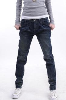 新款大码牛仔垮裤哈伦裤 女式韩版潮 新款休闲小脚铅笔裤牛仔女裤