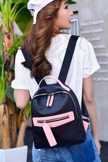 韩版牛津布防水双肩包时尚休闲旅行包书包