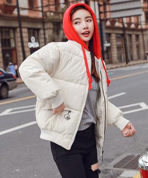 实拍新款棉袄韩版羽绒棉服原宿棉衣女装短面包服冬季外套8811款
