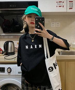 实拍纯棉 2021夏季韩版新款宽松学生短袖T恤女ins超火