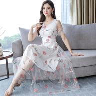 实拍2229#夏季小清新裙子超仙森系甜美刺绣气质显瘦长裙连衣裙