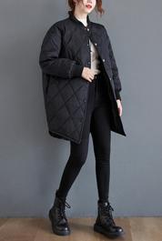 实拍现货2020年新款棉袄冬季外套女棉衣韩版宽松中长款
