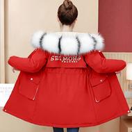 实拍 大量现货 加绒加棉大毛领派克服棉服2020秋冬新品保暖厚外套