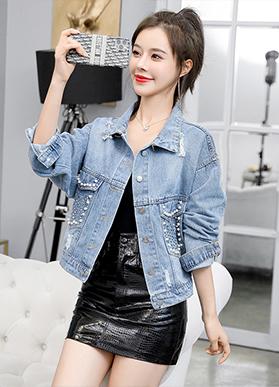 牛仔外套女2020春秋新款女装韩版宽松显瘦牛仔衣短款休闲夹克上衣