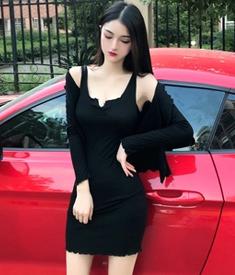 3001#模特实拍!新款背心裙收腰显瘦吊带裙+外套开衫套装裙两件套