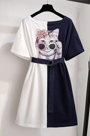 很仙的法国小众连衣裙女2019新款夏装韩版气质收腰小个子裙子洋气