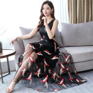 实拍2253#2019新款夏女装很仙的连衣裙长裙网纱仙女裙子超仙森系