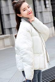 实拍新款羽绒服 女短款韩版面包服学生棒球服棉衣外套806#