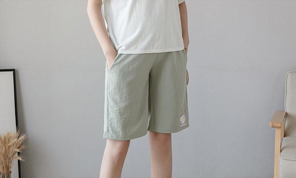 实拍2020孕妇裤子夏薄款外穿短裤时尚宽松五分孕妇裤子夏装休闲