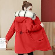 实拍 控价+20 加绒加棉大毛领派克服棉服2020秋冬新品保暖厚外套