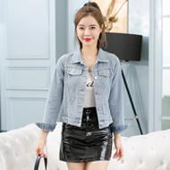 2020小个子新款牛仔外套女修身春秋短款韩版网红上衣潮流款外套