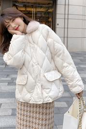 冬季羽绒棉服2020新款棉衣韩版宽松面包服女冬装外套短款棉袄加厚