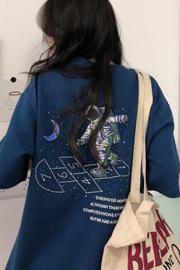 216#(实拍图6535棉)短袖t恤女2021夏装韩版ins慵懒风bf学生上衣