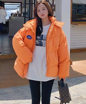 实拍 港风爆款棉衣棉服新款女面包服冬装小个子潮加厚短款外套