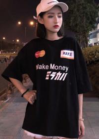 808 #实拍【6535棉现货】ins酷帅气街头嘻哈情侣装夏季  有小视频