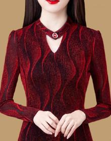 不加绒/ 加绒大码洋气打底衫女2020新款秋冬女上衣时尚长袖小衫