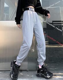 1027【实拍】秋冬新款宽松束脚运动休闲哈伦裤束脚卫裤女士长裤