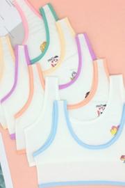 (实拍)337#女童发育期小背心小学生防凸点内衣少女青春期棉内衫