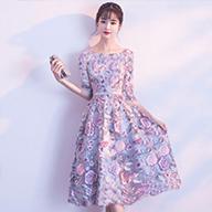 2019夏季新款旗袍连衣裙女中长款改良复古中国风修身时尚裙子