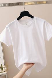 【100%纯棉160g】900#夏季女装t恤女短袖学生韩版宽松原宿风上衣女