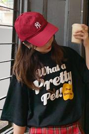 803# 实拍有小视频 6535棉 新款韩版宽松短袖T恤潮