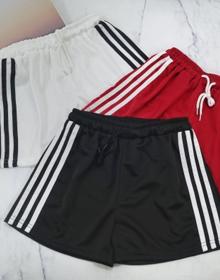 【实拍532】运动短裤女夏季阔腿休闲宽松跑步外穿学生百搭a字热裤