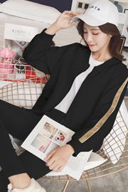 秋款2018新款棒球服外套女韩版宽松小个子短款绣花夹克春秋小外套
