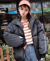 9666实拍冬装女棉衣短款学生面包服bf宽松韩版原宿风棉袄棉服