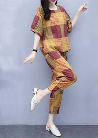 953#套装女2019新款韩版大码宽松遮肉洋气休闲七分哈伦裤两件套女