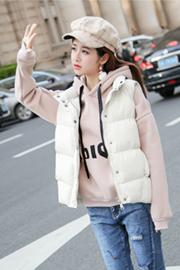 2018新款棉短款马甲女秋冬韩版学生保暖外套女装无袖棉背心潮