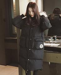 冬季中长款棉衣女2018韩版宽松bf面包服保暖棉袄棉服外套女
