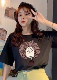 3002# 实拍纯棉短袖女学生韩版宽松2019新款潮半袖打底衫上衣t恤