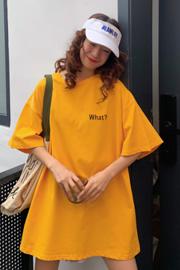 630#(实拍图65/35拉架棉)短袖T恤女宽松印花字母下衣失踪ins潮