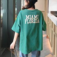 437#(4.30出货)中长款宽松ins潮短袖t恤女学生上衣(6535拉架)