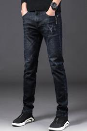 秋冬主推款牛仔裤男弹力修身直筒裤男棉弹牛仔裤男350款4个色