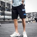 裤子男潮流夏季薄款潮牌休闲宽松运动七分裤五分中裤男士工装短裤