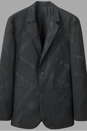 西服 通牌供应 轻奢男装条纹小西服 春秋外套