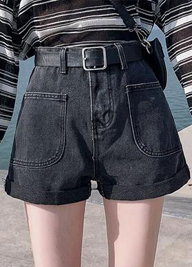 高腰牛仔短裤女2020夏季新款宽松百搭显瘦薄款阔腿裤子热裤潮ins