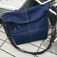 贝多网供1829 拼接帆布袋 帆布包 旅行包 旅行袋