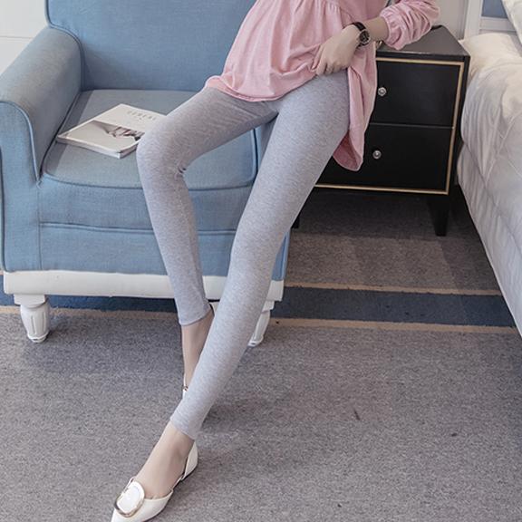 203-1#实拍孕妇裤冬装打底裤 高品质真超柔黄金绒纯色款托腹裤