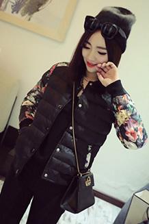 韩国新款棒球服棉衣女短款冬装加厚大码修身显瘦学生学院风外套潮